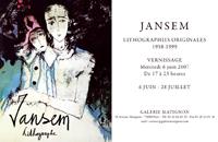 Monsieur Jansemから…