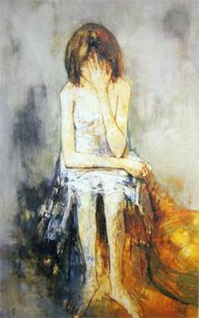 椅子にかける少女〈現在展示中〉