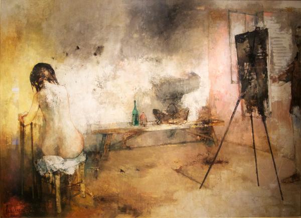 画家とモデル〈現在展示中〉