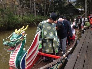 安曇野水祭り(お水返しの儀)