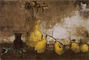 nature morte aux coings - 1968