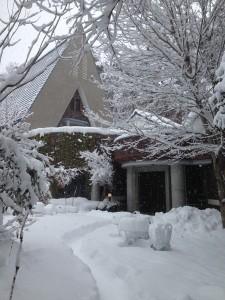 雪状況などのご報告。