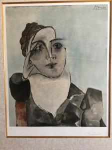 パブロ・ピカソ         「ドラ・マールの肖像」