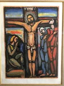 ジョルジュ・ルオー       「十字架上のキリスト」